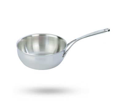 Conical sauteuse without lid