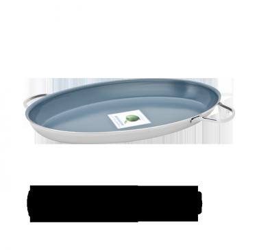 Fish pan with Thermolon Granite