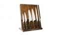 EUROLINE Carbon 7-pc Knife Block Set
