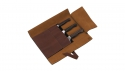 1731 4-pc Leather Knife Roll Set