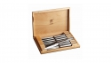 ZWILLING 8-pc Steak Knife Set with Wood Presentation case