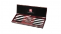 Serrated 8-pc Steak Knife Set with Wood presentation case