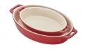 2-pc Oval Baking Dish Set