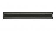 Magneetlijst (kunststof, zwart)