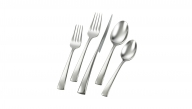 Bellasera 23-pc set plus Serving Spoon, Serving Fork and Butter Knife