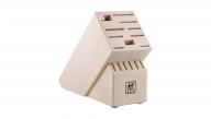 Pro Solid White 16-slot Knife Block