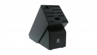 TWIN Rubberwood Black 16-slot Knife Block