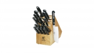"Pro ""S"" 18-pc Knife Block Set"