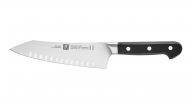 "7"" Hollow Edge Rocking Santoku Knife"