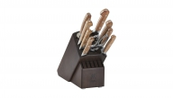 10-pc Knife Block Set - Walnut Block