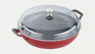 Braiser with Glass Lid