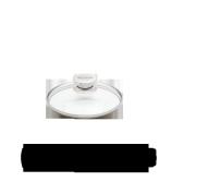 Glazen deksel, 16 cm