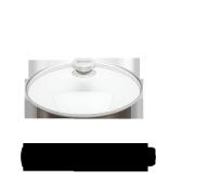 Glazen deksel, 30 cm