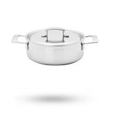 4-qt Stainless Steel Deep Saute Pan