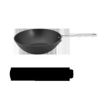 Alu Pro wok, vlakke bodem