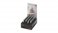 Display 24x Coupe-ongles, inoxydable