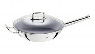 32cm Stainless Steel Coated Wok
