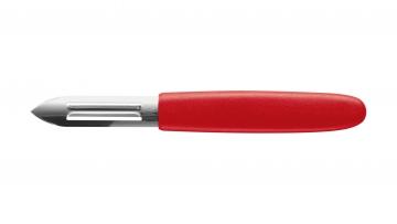 Sparschäler (Kunststoff, rot)