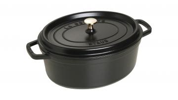 オーバル 31cm ブラック (40509-319)