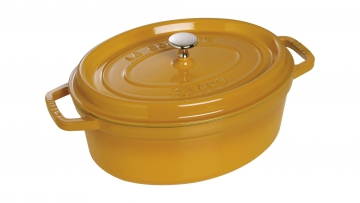 Cocotte, oval