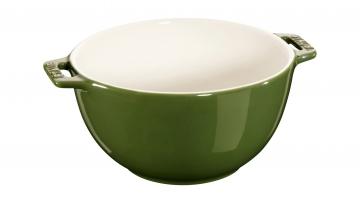Salatschüssel, rund