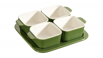 5 Piece Appetiser Set, Basil