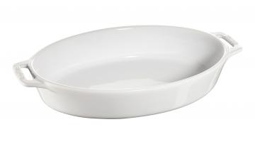 オーバルディッシュ 29cm ホワイト