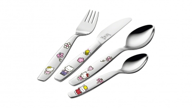 Couverts enfants Hello Kitty 4 pcs.