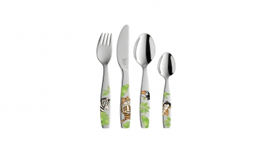Jungle 4 Piece Children's Cutlery Set