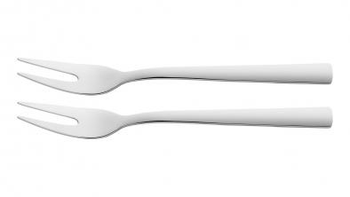 2 meat forks