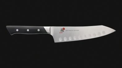 "7"" Hollow Edge Rocking Santoku Knife"