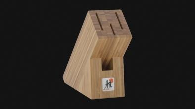 Knivblok Bambus