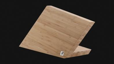 Taco de cuchillos vacío de bambú