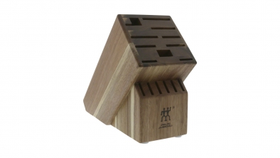 TWIN Acacia 16-slot Knife Block