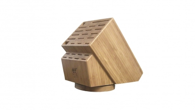 26-slot Bamboo Swivel Knife Block