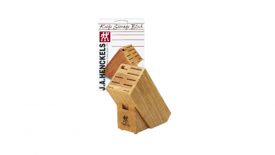 10-slot Hardwood Knife Block