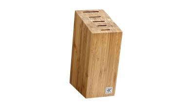 Bloc de couteaux, bambou