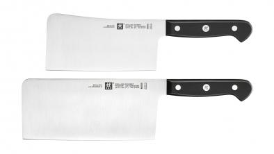 ZWILLING Gourmet Messerset 2-tlg., Chin. Kochmesser + Hackmesser