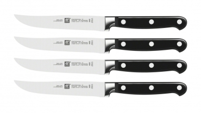 "Professional ""S"" 4-pc Steak Knife Set"