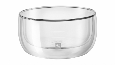 Sorrento 2-pc Double-Wall Glass Bowl Set
