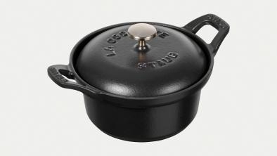 La Coquette, black, 12 cm