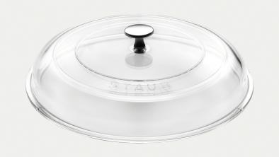 Glaslåg, 24 cm