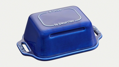 Butter Dish dark blue