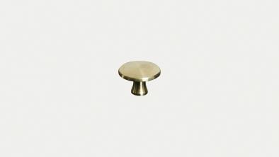 Brass knob medium