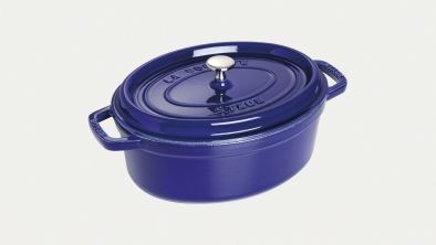 Cocotte ovale, Bleu intense
