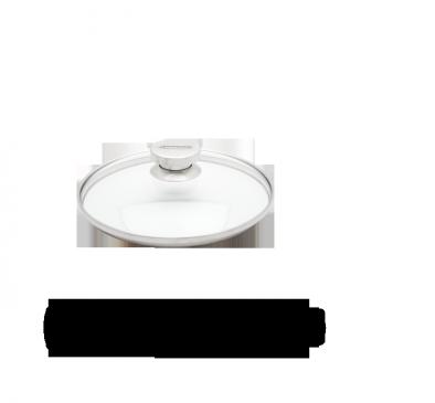 Couvercle en verre, 26 cm