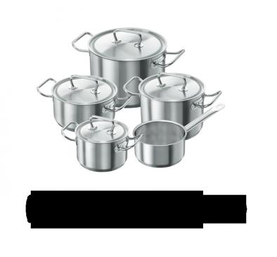 Batterie de cuisine, 5 pcs.
