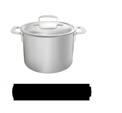 Marmite avec couvercle