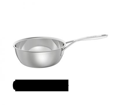 Sauteuse conique sans couvercle