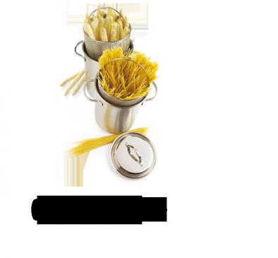 Cocotte à asperges/pâtes